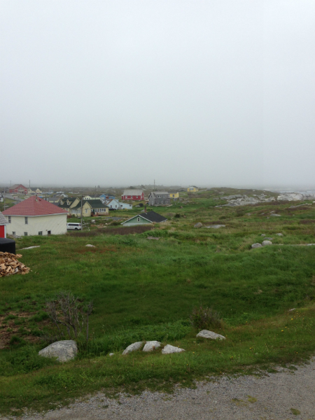 From Texas ... at Peggy\'s Cove - June 3 -2013