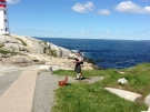 From Toronto - at Peggy\'s Cove - June 5 -2013